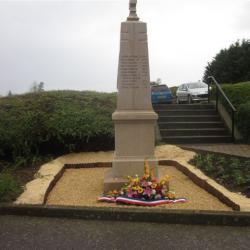 inauguration du monument aux Morts en 2013