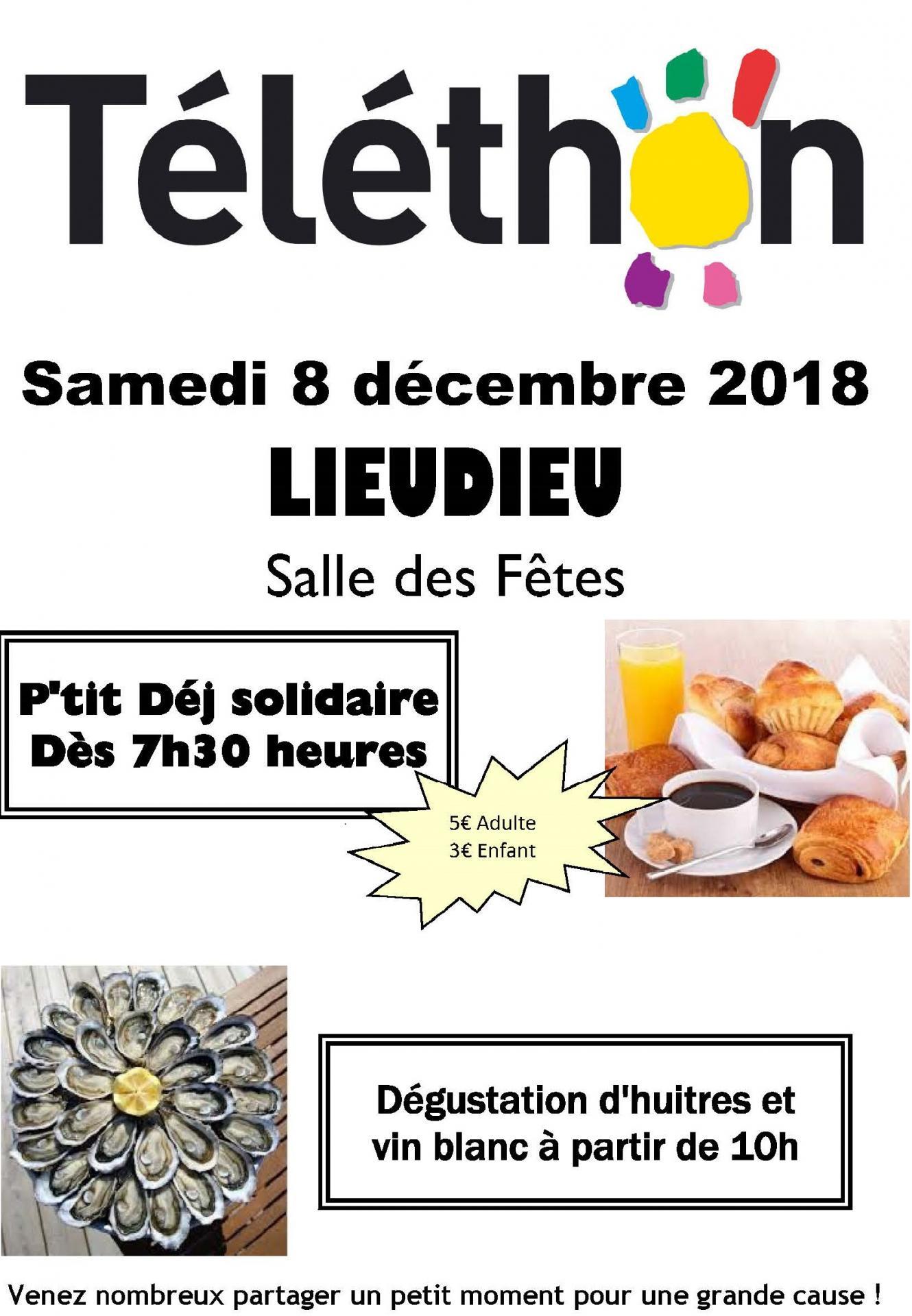 Affiche telethon 2018
